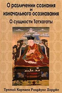Дордже Третий Кармапа Ранджунг - О различении сознания и изначального осознавания. О сущности Татхагаты скачать бесплатно