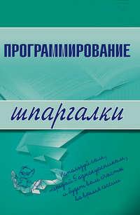 Козлова Ирина - Программирование скачать бесплатно