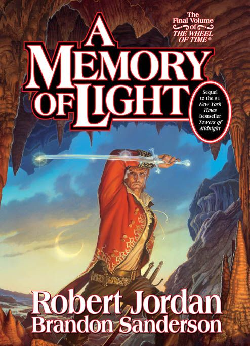 A memory of light is the name given to the fourteenth and final novel of the wheel of time