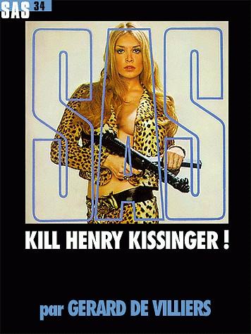 Вилье Жерар - Убить Генри Киссинджера! скачать бесплатно