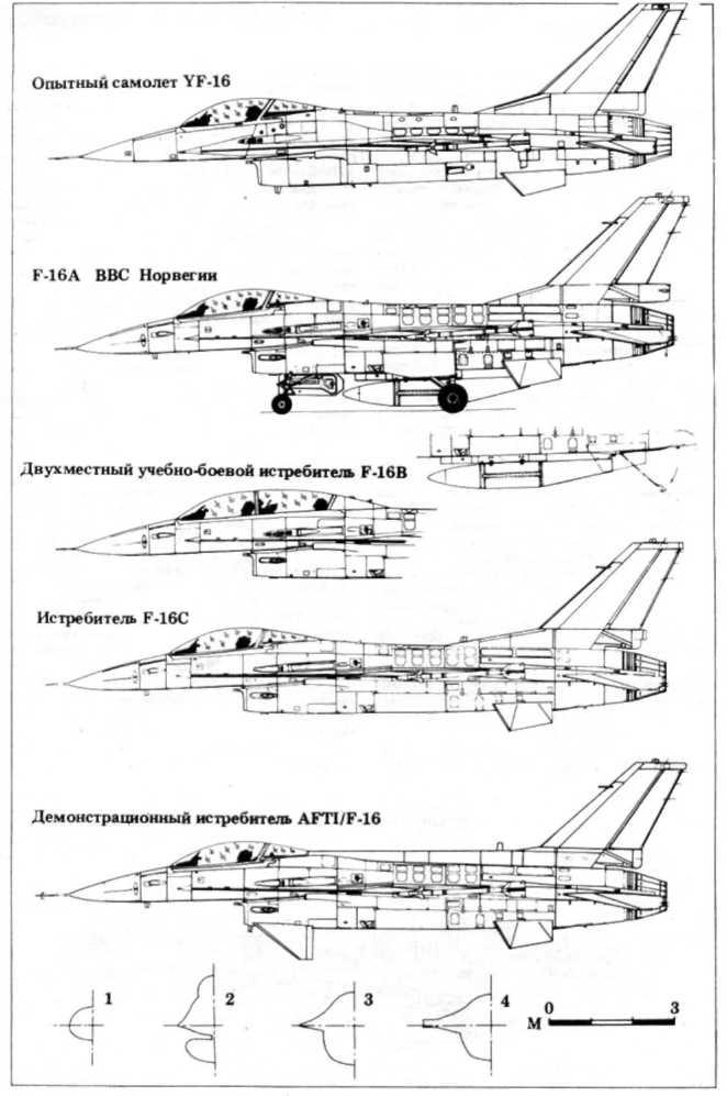 истребителей МиГ-29 и F-I6