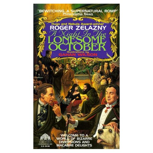 Zelazny Roger - A Night in the Lonesome October скачать бесплатно