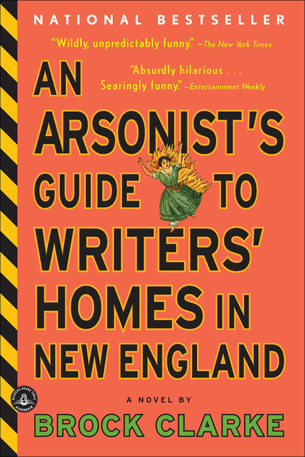 Clarke Brock - An Arsonists Guide to Writers Homes in New England скачать бесплатно