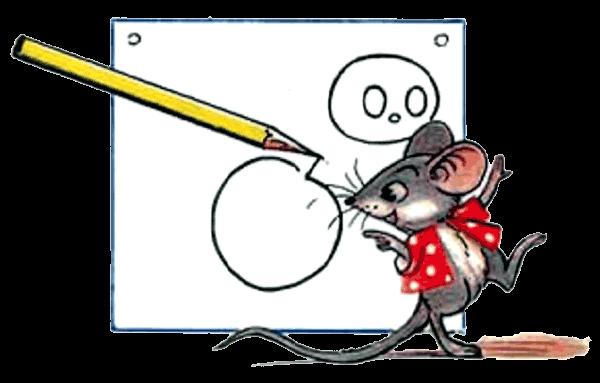Картинки сутеев мышонок и карандаш