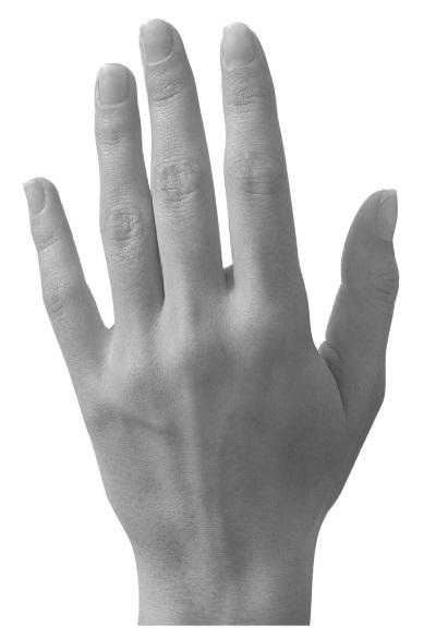 артистическая или коническая рука фото флешка необычной формы