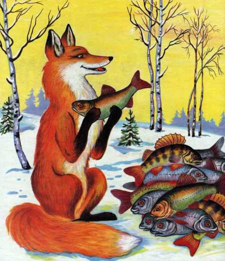 Мультик о лисички и волке